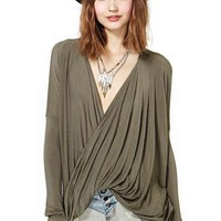 Turn It Loose Top - Olive