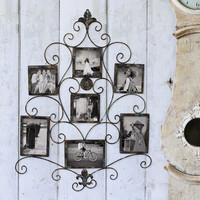 7-Opening Metal Photo Picture Collage Frame