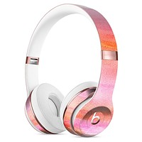 Pink 922137 Absorbed Watercolor Texture Full-Body Skin Kit for the Beats by Dre Solo 3 Wireless Headphones