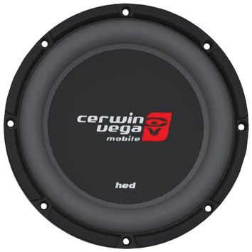 """Cerwin-vega Mobile Hed Series Dvc Shallow Subwoofer (12"""" 4ohm )"""