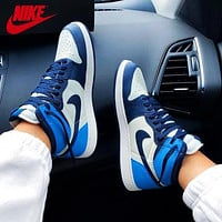 Nike Air Jordan 1 Retro High OG UNC Sneakers Shoes