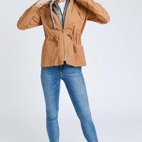 Shades of Autumn Jacket - Camel
