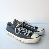 Classic Converse All Star Low Top Tennis Shoes Blue 9W / 7M
