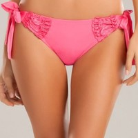 Betsey Johnson Loops `n Bounds Tie Side Hipster Bottom