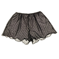 Miss Crofton — Black polka dot shorts