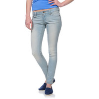 Empyre Girls Logan Sunbleach Skinny Jeggings at Zumiez : PDP