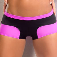 Vertical Vixen  Daphne, Gypsy Workout Shorts