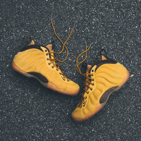 NIKE Air Foamposite One QS - Wheat - Email Orders