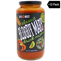 JB's Best Classic Bloody Mary Drink Mixer (32 fl. oz. x 12)