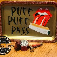 Puff Puff Pass Tobacco Rolling Tray