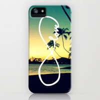 Infinite Hawaii Sunset iPhone Case by Samantha Ranlet | Society6
