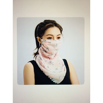1 Fits All - PinkPP - Face Mask Scarf