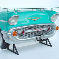 57 Chevy Car Bar Turquoise 1957 Chevrolet Car Bar, Car bar
