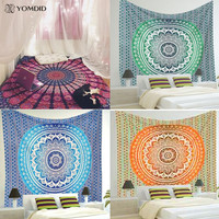 Indian Mandala Tapestry Wall Hanging