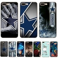 Gerleek Dallas Cowboys Phone Case For iPhone 5 5s Se 6s 6 7 8 Plus X XR XS Max Cover Shell