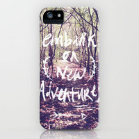 New Adventures iPhone Case | Print Shop