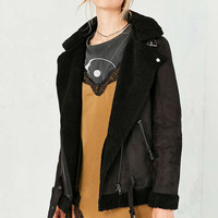 Silence + Noise Tough Hooded Aviator Jacket - Urban Outfitters