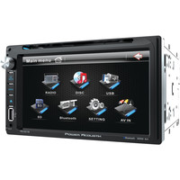"""Power Acoustik 6.5"""" Double-din In-dash Lcd Touchscreen Dvd Receiver (with Bluetooth)"""