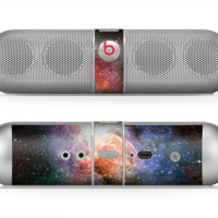 The Multicolored Space Explosion Skin for the Beats by Dre Pill Bluetooth Speaker