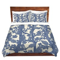 Duvet Covers and Shams By Julia Grifol Romantic Tree II