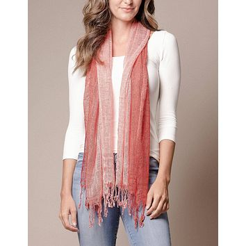 Ombre Silk Blend Scarf