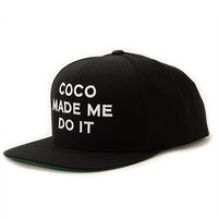 SSUR Coco Made Me Do It Snapback Hat