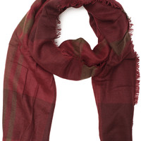 Up At Dawn Scarf - Burgundy