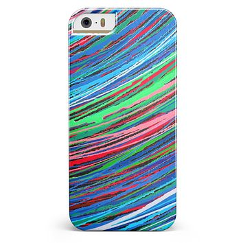 Colorful Strokes iPhone 5/5s or SE INK-Fuzed Case