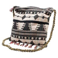 Women's MUK LUKS Crossbody Square Handbag - Black
