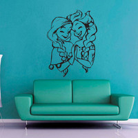 Elsa and Anna - Frozen - Wall Decal
