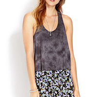 Knotted Tie Dye Tank