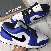 Nike Sb Dunk Low Pro Hot sale classic color matching casual shoes for men and women sports shoes sneakers Royal blue