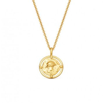 Missoma - Gold Mini Rope Coin Necklace | Missoma
