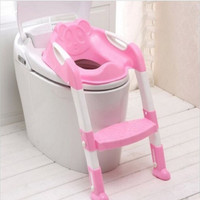 2016 Time-limited Baby Potty Seat With Ladder Children Toilet Cover Kids Folding Infant Chair Training Portable Pinico Troninho