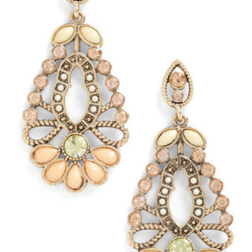 Apricot Blossom Earrings