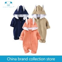 baby clothes Autumn newborn boy girl clothes set baby fashion infant baby brand products clothing bebe newborn romper MD150Q110