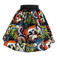"""""""Perfectly Pleated"""" Monsters Skirt"""