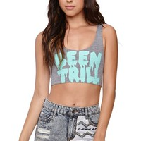 Been Trill Logo Cropped Tank - Womens Tee