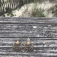Don't Be Shell-fish Earrings