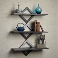 Diamonds Three Level Shelving System by Danya B
