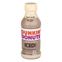 Dunkin' Donuts Iced Coffee French Vanilla, 13.7 FL OZ - Walmart.com