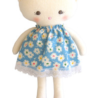 ALIMROSE KITTY DOLL 26CM BLUE FLORAL