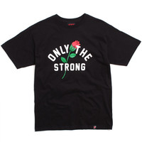 Only The Strong T-Shirt Black
