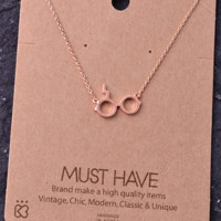 Must Have Necklace- Harry Potter- Rose Gold