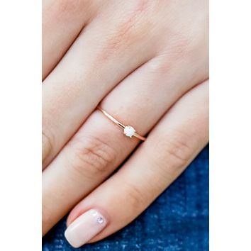 What I Want Ring - Rose Gold