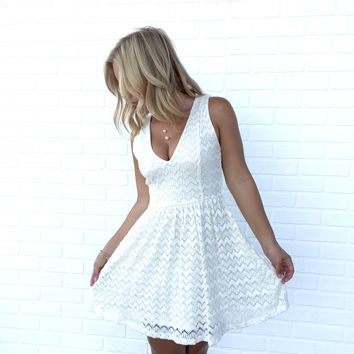 Go For Gold Lace Dress