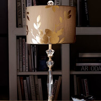 Gold-Leaf Table Lamp
