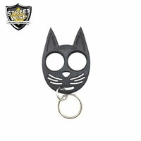 Streetwise My Kitty Self-Defense Keychain Black