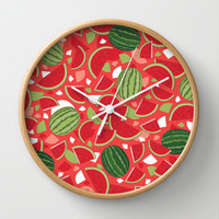 Watermelon Wall Clock by Ornaart