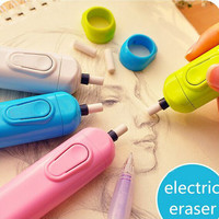 Deviant artists School University Electric Pencel Eraser Supply High school art class major